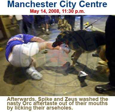 Rangers UEFA Cup Riot: Manchester, May 14, 2008